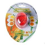 Eieruhr Eggtimer zum Mitkochen mit farbveränderndem Element Kurzzeitwecker Küchentimer Eierwecker, Kunststoff, ca. 6 x 4 x 3 cm, 1 Stück