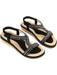 Zapatos 43 Mujer Para esSandalias Amazon Negras qzLSUMVpG
