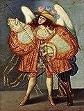 Unknown - Arcangel Con Arcabuz Artistica di Stampa (22,86 x 30,48 cm)