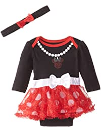 Disney Baby Girls Minnie Bodysuit Dress