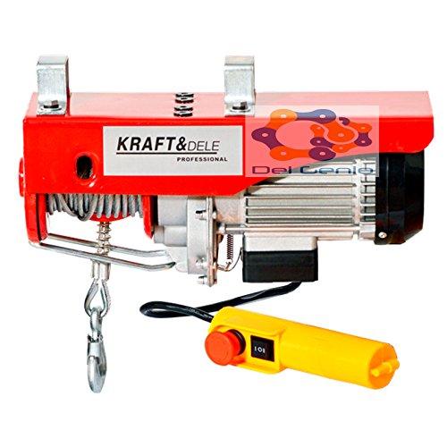 Argani elettrico, montacarichi a fune, 100-800 kg portata 500-1300 Watt girevole vettore estensibile per paranchi elettrici (250-500)