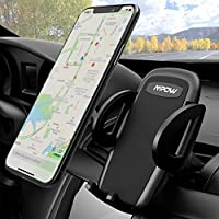 Mpow Car Mount, Universal Air Vent Phone Holder Adjustable Car Cradle With One Button Release and 360 Degrees Ratation for iPhone 7/7 Plus/6/6s Plus/5S,LG,Sony,HTC,Huawei and Other Mobile Phone