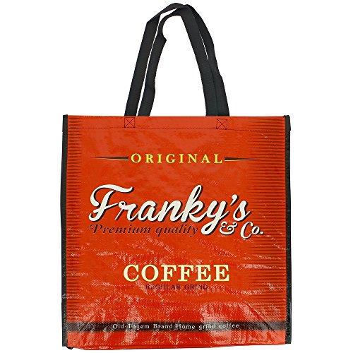 New York - Sac de courses Cabas Shopping Pub Rétro Vintage Coffee