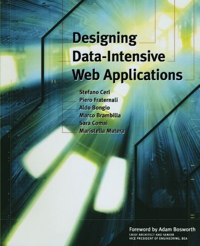 Designing Data-Intensive Web Applications (The Morgan Kaufmann Series in Data Management Systems) 1st edition by Ceri, Stefano, Fraternali, Piero, Bongio, Aldo, Brambilla, M (2002) Paperback