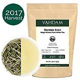 Tè bianco esotico in foglie dalle Montagne Blu – 100% puro tè bianco Nilgiri in edizione limitata, direttamente dalle piantagioni Glendale nel sud dell'India, RICCO DI ANTIOSSIDANTI (25 tazze)