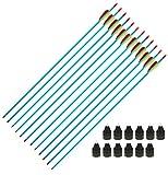 g8ds Set: 12 LARP Spitzen + 12 Aluminium Pfeile 30