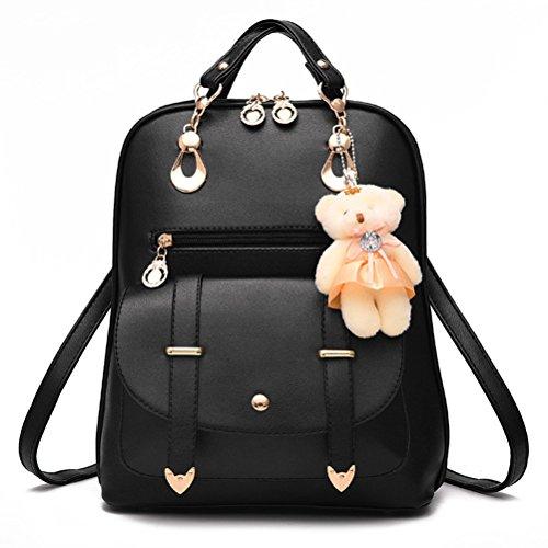 Honeymall-Le nouveau sac à dos filles de loisirs Ours pendentif