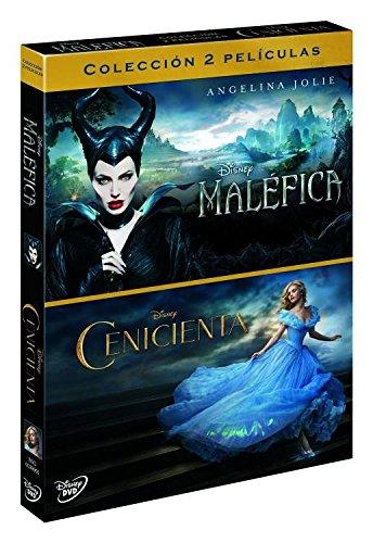Duopack: Cenicienta Imagen Real + Maléfica [DVD]