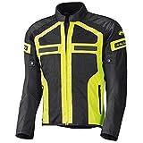 Held Tropic 2 Chaqueta de moto, color negro y amarillo size L