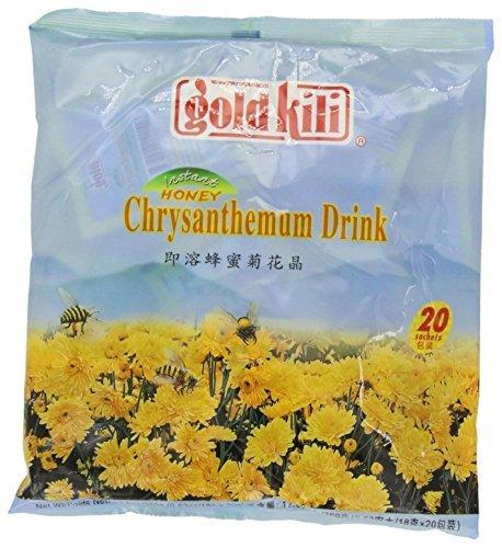 20 Beutel Goldkili Instant Honig Chrysantheme Kräuter- Getränk Tee Heiß Kalt Päckchen Chinesische -