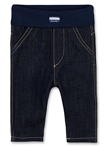 Sanetta Baby-Jungen Jeans 901487 Blau (Dark Blue 9482), 74