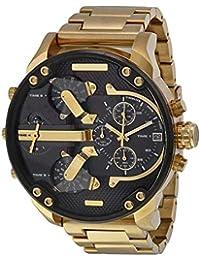 Hombres auténticos uhrquarz Impermeable de Acero Inoxidable Reloj Calendario Reloj Reloj Reloj relogio