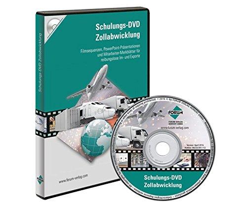 Schulungs-DVD: ZollabwicklungFilmsequenzen, PowerPoint-Präsentationen und Mitarbeiter-Merkblätter für reibungslose Im- und Exporte. 310 Min. (Merkblätter)