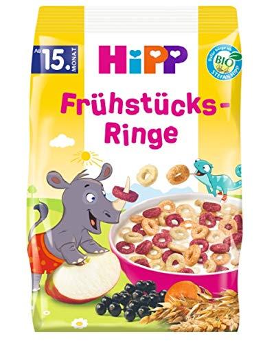 Hipp Bio-Müesli, Frühstücks-Ringe, 5er Pack (5 x