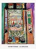 1art1 Henri Matisse Poster Reproduction - La Finestra, La Fenêtre I (70 x 50 cm)