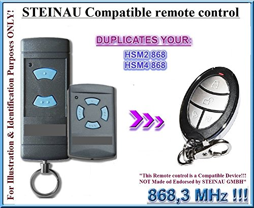 STEINAU-HSE2HSM4-compatible-con-mando-a-distancia-emisor-de-repuesto-compatible-con-STEINAU-HSE2-HSE4-emisor-8683-mhz-Fixed-Code-Clones