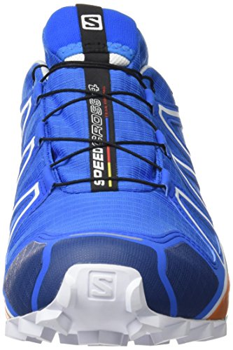 Salomon Herren Speedcross 4 Gtx Traillaufschuhe Blau (Bright Blue/Union Blue/White)
