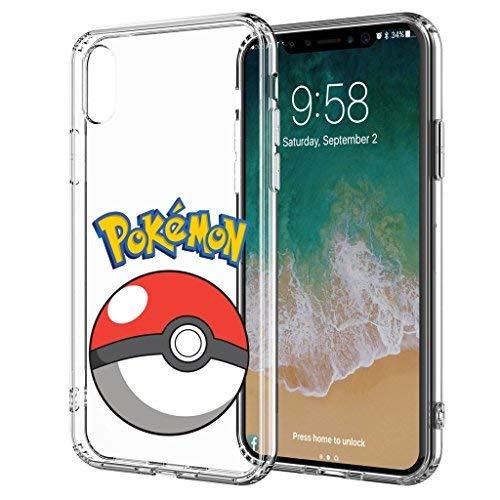 blitz versand germany ® GO Pokemon Schutz Hülle Transparent TPU Cartoon Pokemon Pokeball M9 Samsung Galaxy Note 9