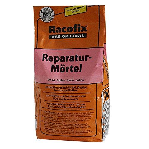 Racofix Reparaturmörtel 5 Kg zur Abdichtung Spachtelmasse Innen Aussen