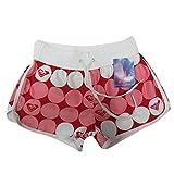 YOUJIA Femme Pantalon De Sport Casual Shorts De Plage//Bain/Surf Court Imprimé