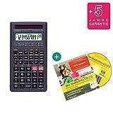 Casio FX-82 Solar + Lern-CD (auf Deutsch) + Erweiterte Garantie