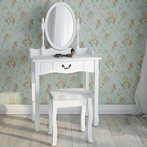 Miadomodo-Mesa-para-maquillaje-Tocador-moderno-para-dormitorio-con-cajn-taburete-y-espejo-desmontable-dipsonible-en-color-blanco-o-negro