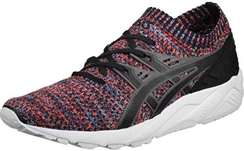 ASICS Herren Carbon/Schwarz Gel Kayano Knit Lo Sneakers Carbon/Black jiy3Jz6