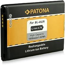 Batería BL-44JN para LG Optimus Black (P970) | Optimus Hub (E510) | Optimus L1 II (E410) | Optimus L3 (E400) | Optimus L3 II (E430) | Optimus L5 (E610) | Optimus Net (P690) | Optimus Sol (E730) [ Li-ion 1600mAh / 3.7V ]