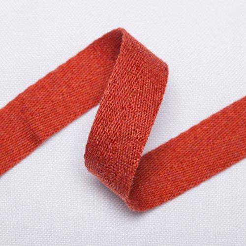 Neotrims Soft Herringbone Weave Baumwolle, Schneiden Band Schneidern Craft Bordüre Wonderful Colour. 21Optionen erhältlich. 16mm breit, ES IST SCHÖN und Drape., baumwolle, 021 - Brick, 3 m (Herringbone-band)