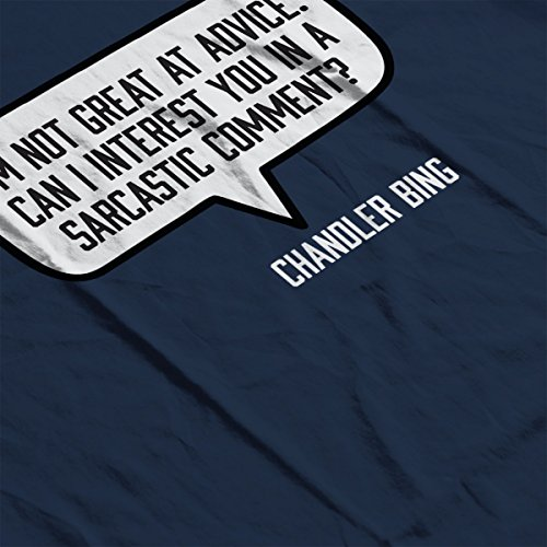Friends Chandler Bing Quote Women's Vest Navy blue