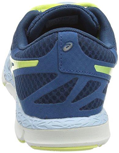 Asics 33-dfa, Chaussures de Running Entrainement Femme Bleu (Milk Blue/Sunny Lime/Mosaic BI)