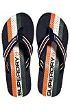 Superdry Herren Trophy Flip Flop Dusch-& Badeschuhe, Mehrfarbig Orange/High L and Green Zq8, 44/45 EU
