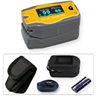 Preisvergleich für Kinder Fingerpulsoximeter MD300C52 mit OLED-Anzeige *Bär