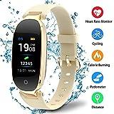 Montre Connectée Sport Fitness Tracker d'Activité Montre Étanche IP67 Bracelet Intelligent Podomètre Calories Sommeil-Bluetooth 4.0 Smart Traqueur d'Activité pour Femme Homme Sport/Android et iOS Portable - Vendu Par Udenx