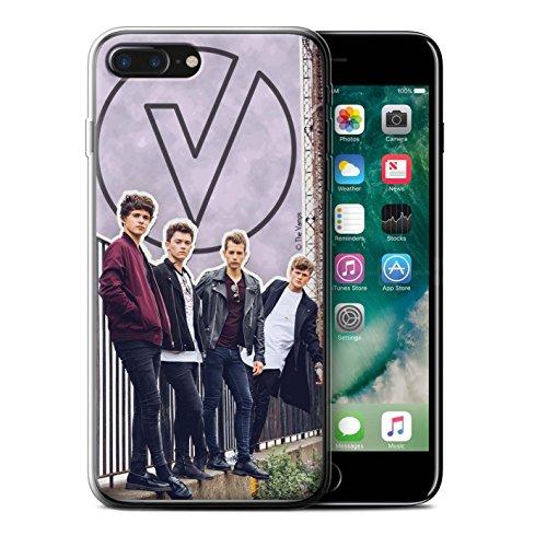 Officiel The Vamps Coque / Etui Gel TPU pour Apple iPhone 7 Plus / Stylo Rouge Design / The Vamps Livre Doodle Collection Coupé