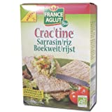 Crac'tine sarrasin / riz Bio (2 x 125 g) - 250 g
