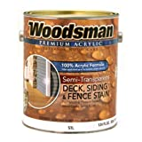Best Deck Paints - A USA Made Product Woodsman® Premium 100% Acrylic Review