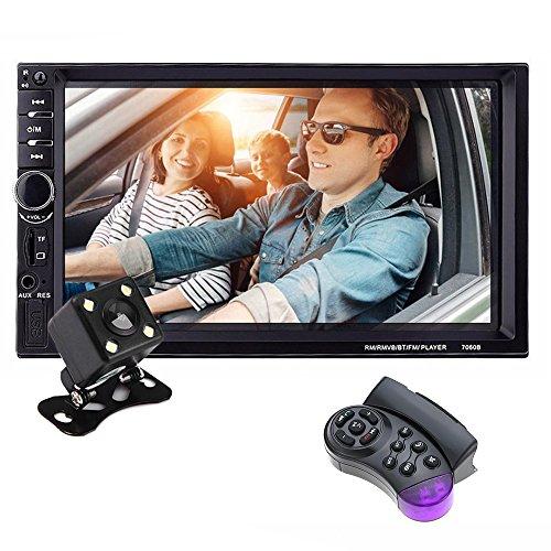 KKmoon 2 Din Car Radio, 7 inch T...