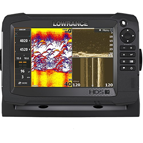 Lowrance HDS-7 Carbon MFD with StructureScan 3D Module and 3D Transom Mont - Lowrance Hds