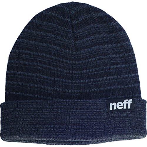 Neff Ryder, Berretto invernale Unisex, taglia unica, Nero (Charcoal), Taglia unica