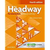 New Headway Pre - Intermediate Fourth Edition Workbook + Ichecker with Key: The world's most trusted English course