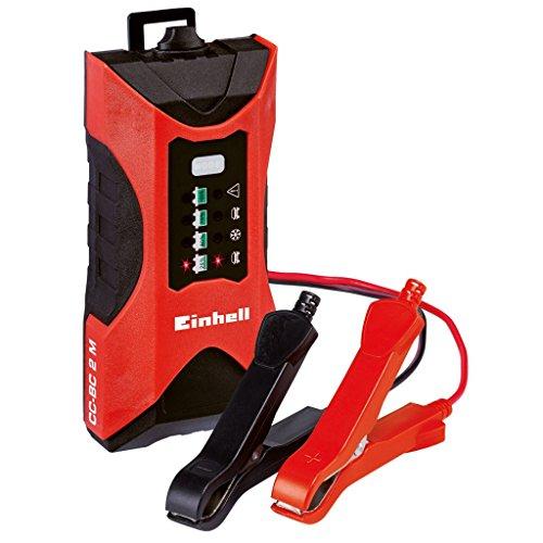 Caricabatterie 6V 12V mantenitore di carica batterie max 60 Ah auto moto Einh