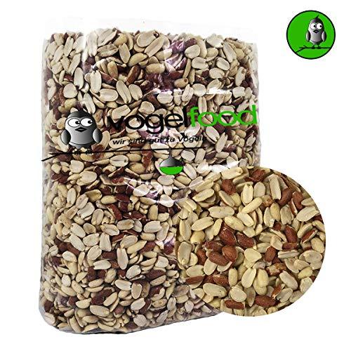 Samore 25 KG teilblanchierte Erdnusssplits Erdnüsse Splits Qualität Versand mit DHL