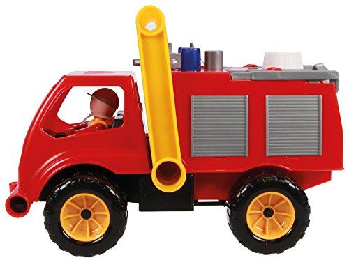 feuerwehrauto lena Lena 04355 - Aktive Feuerwehr mit Spielfigur, Wassertank und Spritzfunktion ca. 26 cm