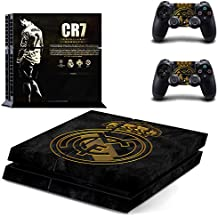 Hytech Plus : CR7 Theme Sticker For PS4 Console & 2 Controllers