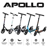 Apollo 200mm Wheel City Scooter - Spectre Pro Luxus City Scooter mit Doppel Federung