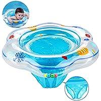 Anillo de natación para bebé, flotador de natación inflable de la piscina del bebé con