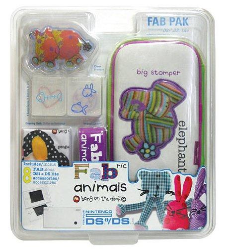Price comparison product image Mad Catz DS Lite/DSi Official FABric Animals Pack Elephant Design (Nintendo DS)