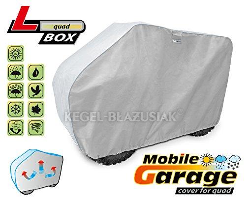 Mobile Garage-Abdeckung für ein Quad Größe L + BOX :180-215cm b:125cm, c:120cm