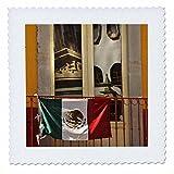 3drose QS _ 86594_ 2Mexiko, Guanajuato, Flagge auf